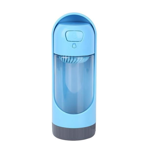 Portable Pet Water Bottle Another Ideal Shop Blue with a filter