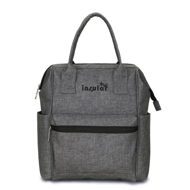 Mommy's Backpack Diaper Bag Another Ideal Shop Gray