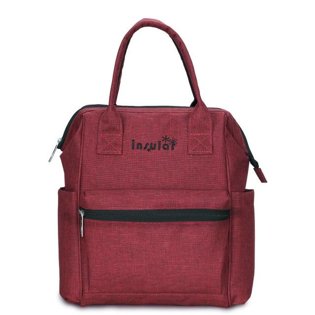 Mommy's Backpack Diaper Bag Another Ideal Shop Burgundy