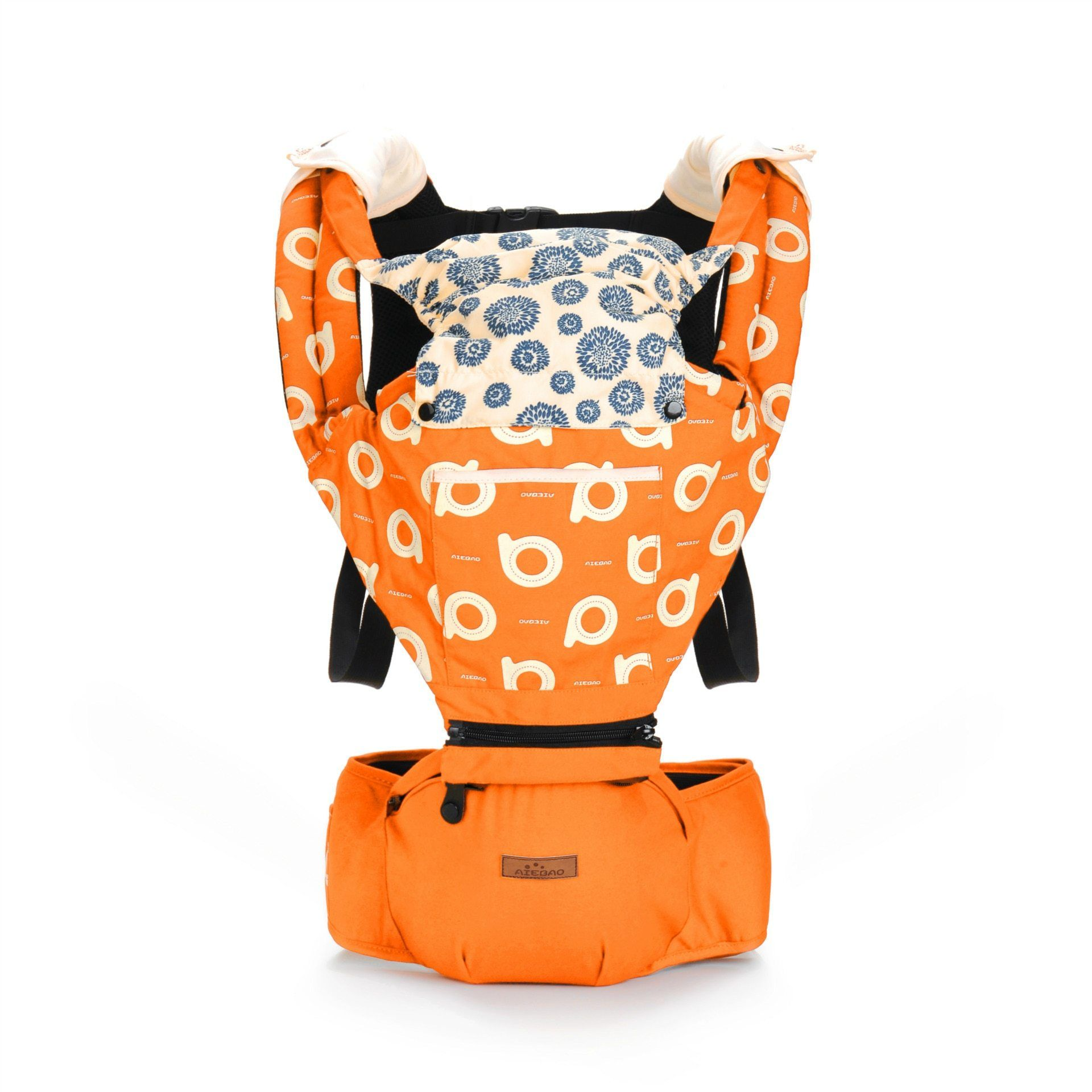 Cotton Baby Carrier with Hood Another Ideal Shop