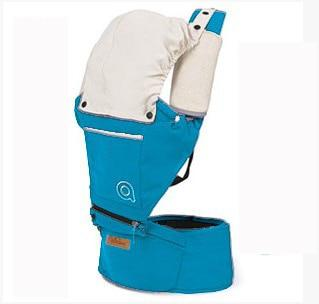 Cotton Baby Carrier with Hood Another Ideal Shop Light Blue