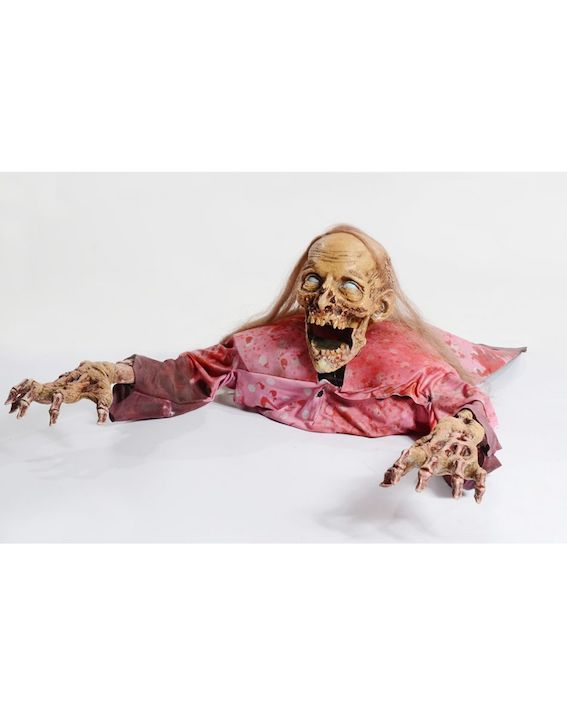 DECORACION CLAWING CATHY ZOMBIE PROP HALLOWEEN
