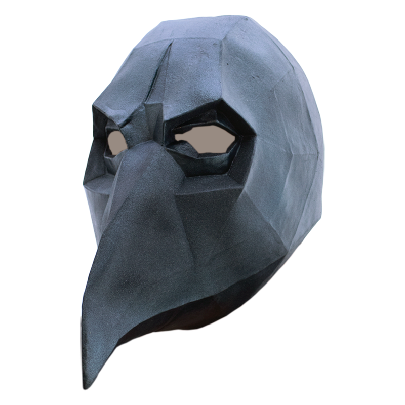 MASCARA LOW POLY BLACK CROW