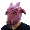 MASCARA LOW POLY RED GOAT
