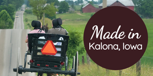 Amish recipes, heritage, and food can be found in the midwest in Kalona, Iowa