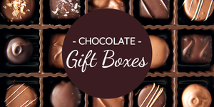 Chocolate gift boxes - special gifts from Kalona, Iowa!