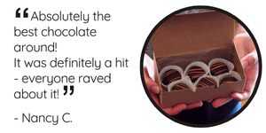 """Absolutely the best chocolate around! It was definitely a hit - everyone raved about it!"""