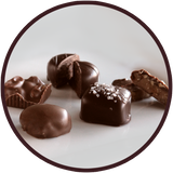 An assortment of the finest chocolates from Kalona Chocolates