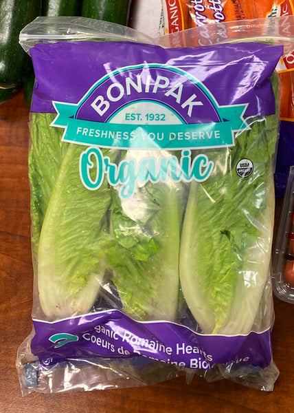 Organic Romaine Hearts (1 Pack - 3 eaches)