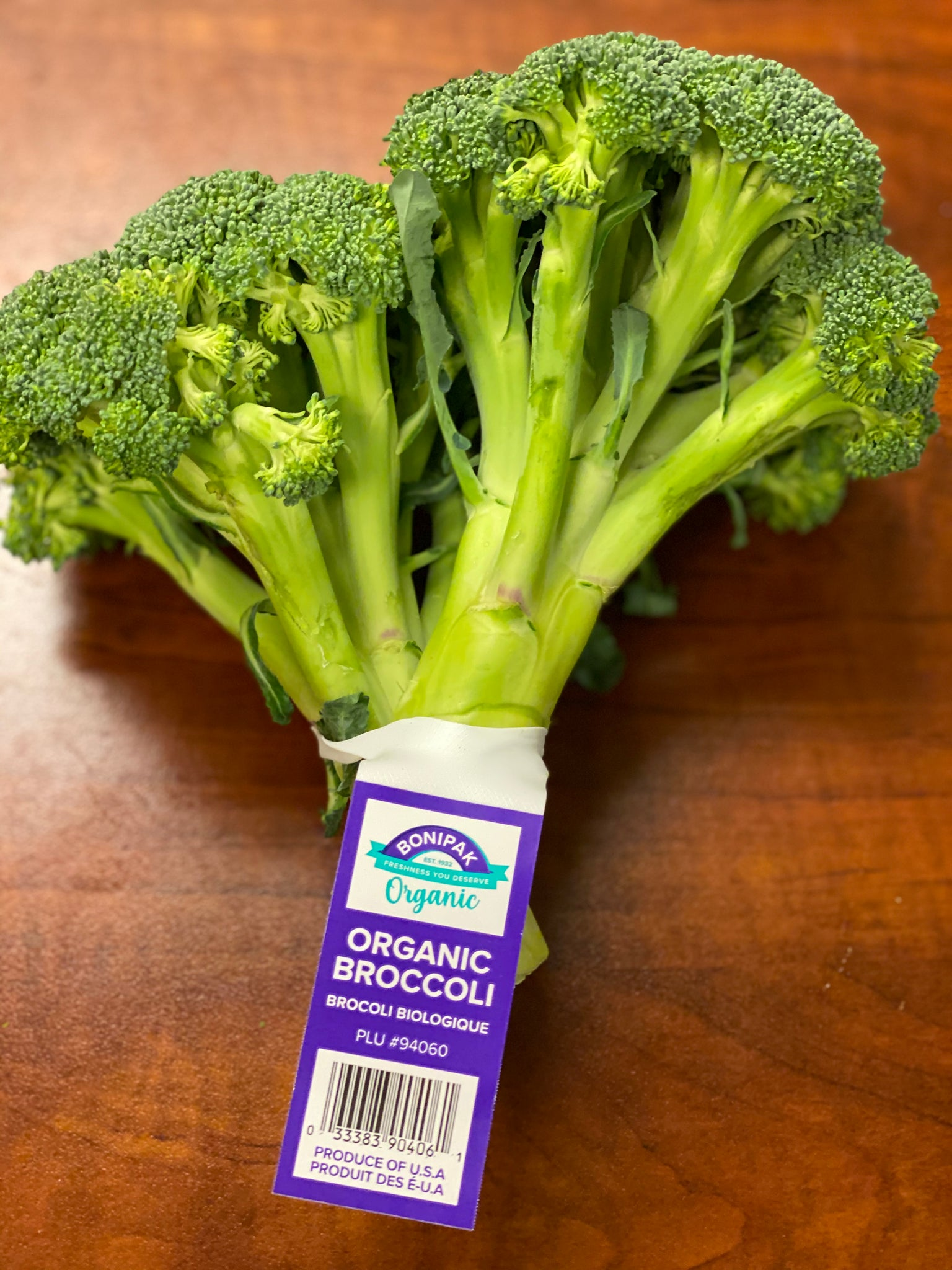 Organic Broccoli (2 count)