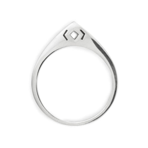 Arch Ring / Sterling Silver