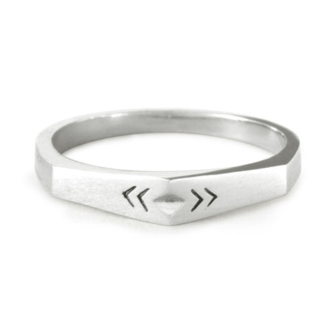 Point Ring / Sterling Silver