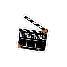 Load image into Gallery viewer, DESERTWOOD Movie Slate sticker