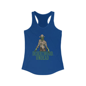 "Desertwood Undead ""New Sheriff In Town"" Racerback Tank (Sizes run smaller than usual)"