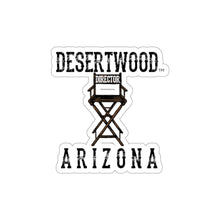 Load image into Gallery viewer, DESERTWOOD Director's Chair sticker