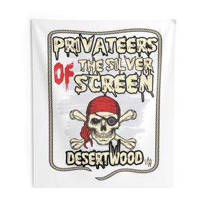 DESERTWOOD Privateers Of The Silver Screen Indoor Wall Tapestries