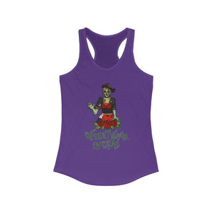 "Desertwood Undead ""Soiled Dove"" Racerback Tank (Sizes run smaller than usual)"