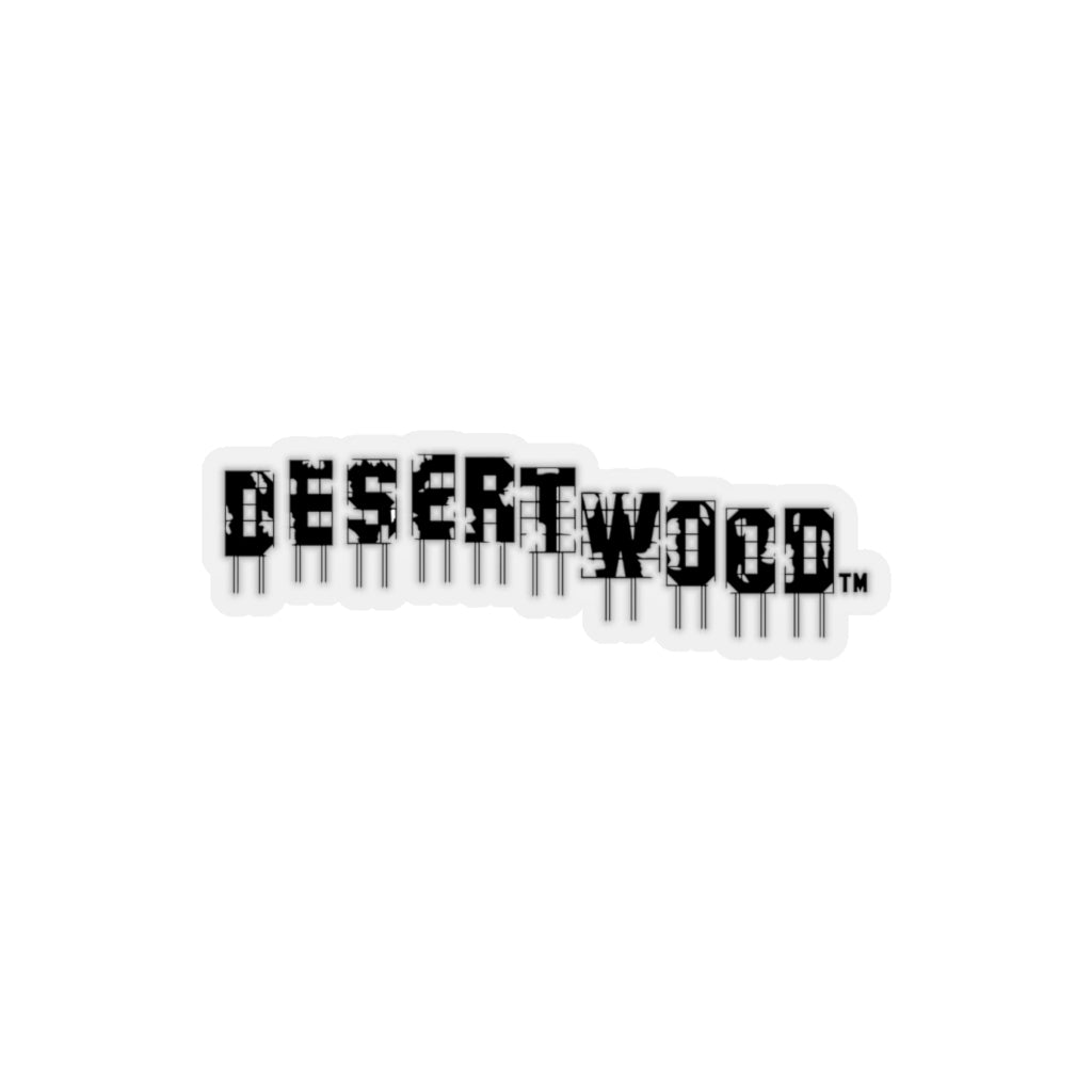 DESERTWOOD Derelict Sign Sticker