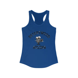 "Desertwood Classic ""Camera"" Racerback Tank (Sizes run smaller than usual)"