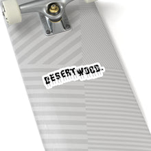 Load image into Gallery viewer, DESERTWOOD Derelict Sign Sticker