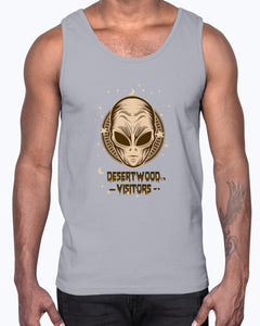 "Desertwood Visitors ""Light Walker"" Gildan Ultra Cotton Tank"