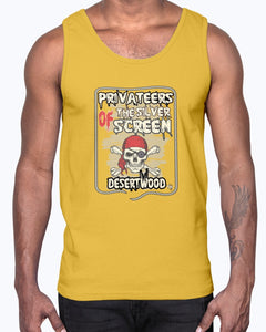 "Desertwood Classic ""Film Privateers"" Gildan Ultra Cotton Tank"