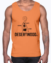 "Load image into Gallery viewer, Desertwood Classic ""Lights, Camera, Action!"" Gildan Ultra Cotton Tank"