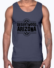 "Load image into Gallery viewer, Desertwood Classic ""Film Split"" Gildan Ultra Cotton Tank"