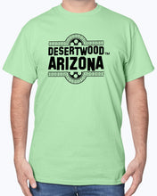 "Load image into Gallery viewer, Desertwood Dead ""Film Split""Gildan Sign Cotton T-Shirt"