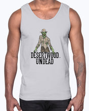 "Load image into Gallery viewer, Desertwood Undead ""New Sheriff In Town"" Gildan Ultra Cotton Tank"