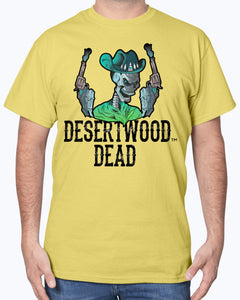 "Desertwood Dead ""The Gunslinger"" Gildan Cotton T-Shirt"