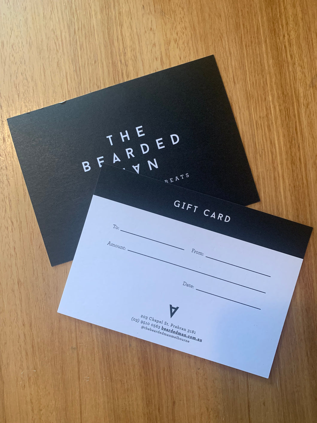 The Bearded Man Gift Card