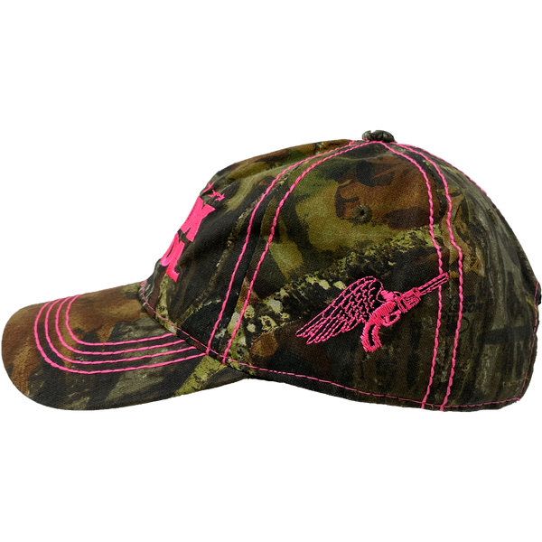 Camo Embroidered Cap