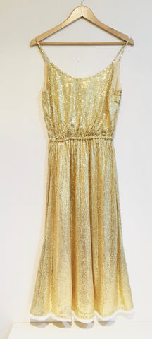 Mes Demoiselles Gold Dress