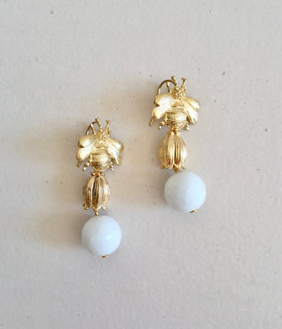 Diana Wilson Bee Earrings