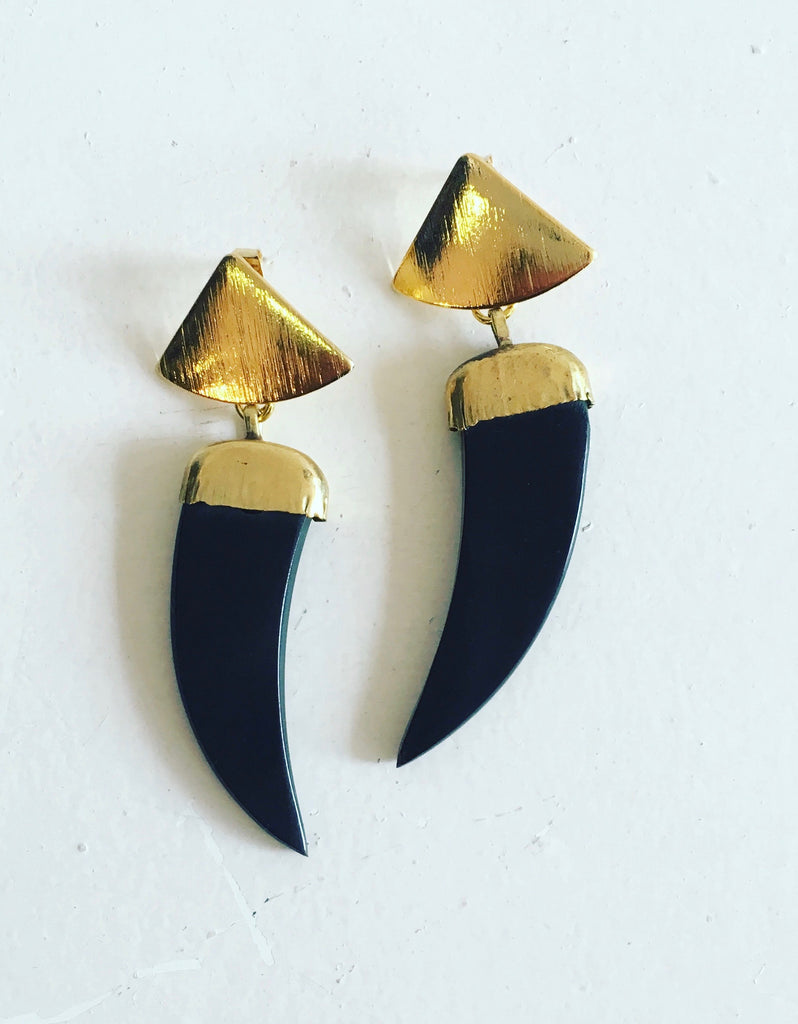 Diana Wilson Black Earrings