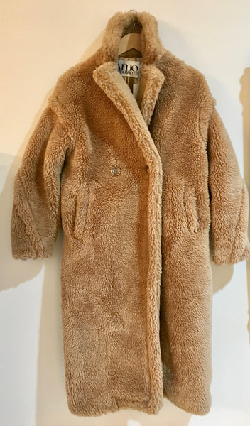 Amo Teddy Coat Honey