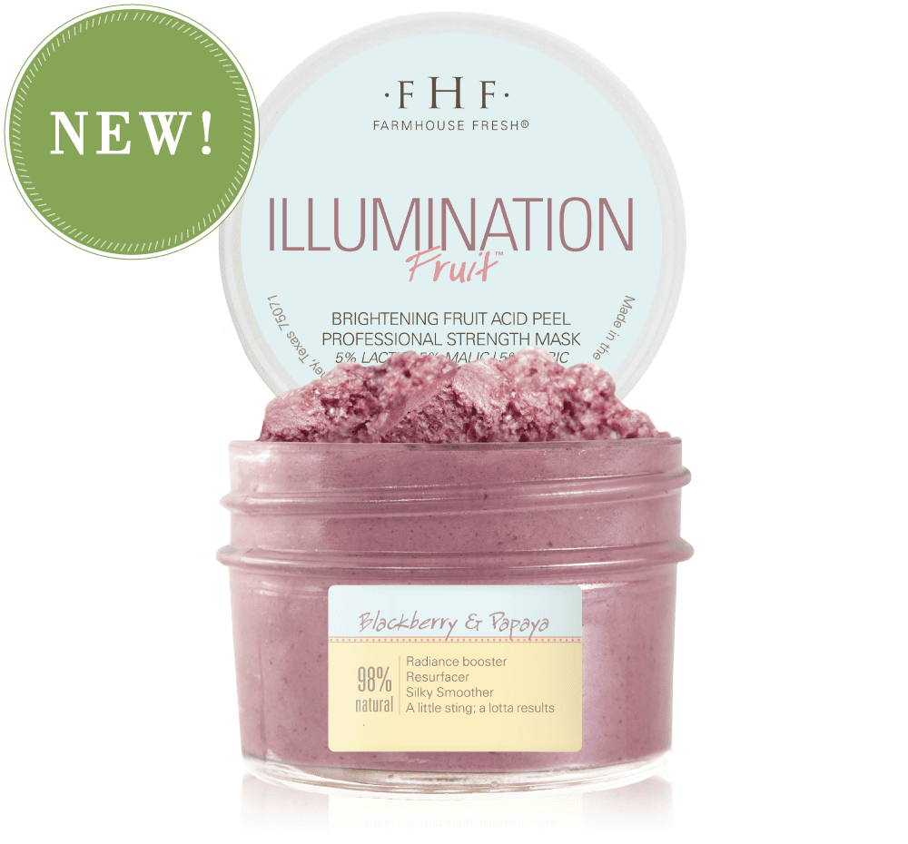 Farmhouse Fresh Illumination Fruit™ Professional Strength Brightening Fruit Acid Peel Mask 3.25