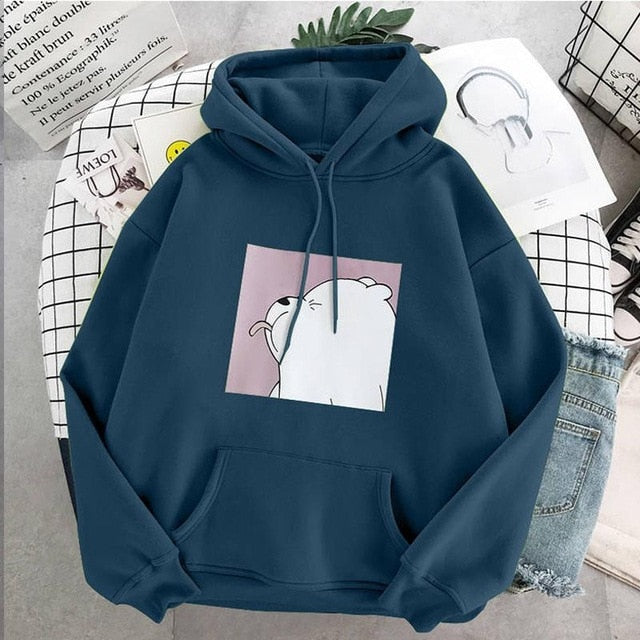 sweatshirt Autumn and Winter Furry and Thickened Sanitary hoody Women's Hoodies New Korean Edition Students'Loose Long Sleeve