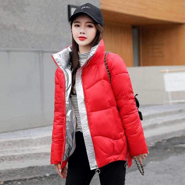 2020 New Winter Jacket High Quality stand-callor  Coat Women Fashion Jackets Winter Warm Woman Clothing Casual Parkas