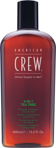 American Crew 3 in 1 Tea Tree Shampoo 450ml