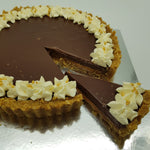 Load image into Gallery viewer, Chocolate and Salted Caramel Tart