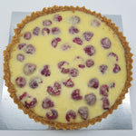 Load image into Gallery viewer, White Chocolate and Raspberry Tart