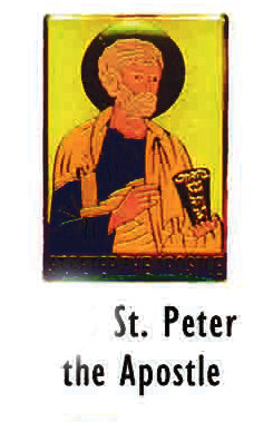 St Peter the Apostle Lapel Pin