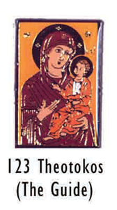 Theotokos The Guide Lapel Pin