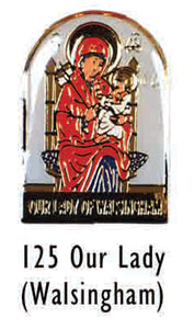 Our Lady of Walsingham Lapel Pin