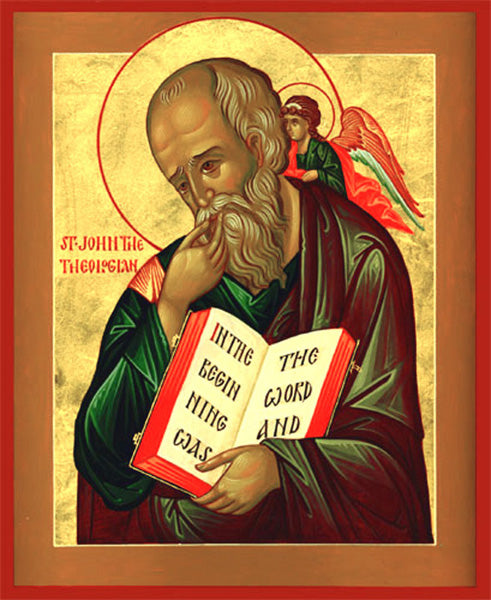 Orthodox St. John the Theologian Icon