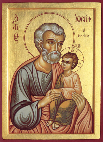 Orthodox St. Joseph the Betrothed Icon #3