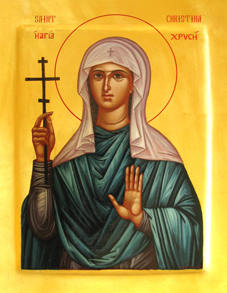 St. Christina of Tyre Orthodox Icon