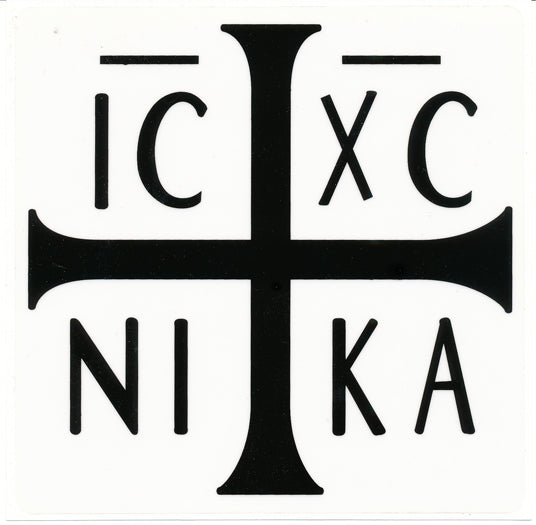 Orthodox Car Decal ICXC
